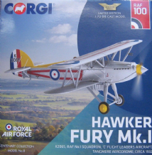 AA27304 Hawker Fury Mk.I, K2065, RAF No.1 Squadron, 'C' Flight Leaders Aircraft - 100 Years of the R